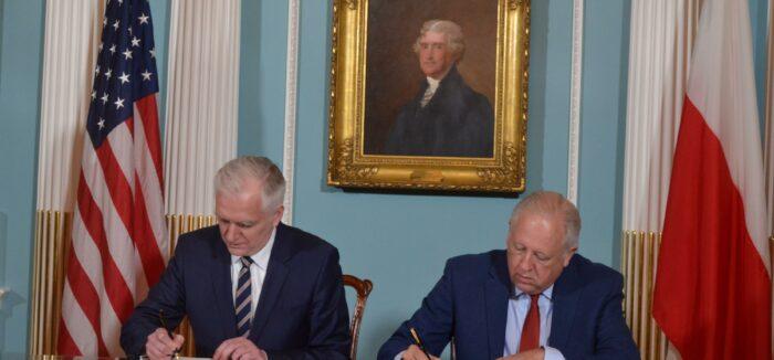 Umowa owspółpracy naukowo-technicznej między Polską aUSA